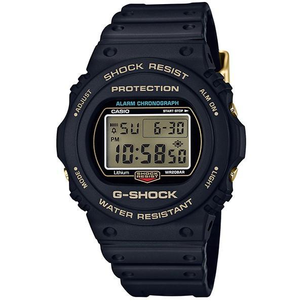 CASIO G-SHOCK DW-5735D-1B (国内品番DW-5735D-1BJR同型) 35周年記念限定モデル 35th Anniversary ブラック×ゴールド スペシャルカラー|tokizen