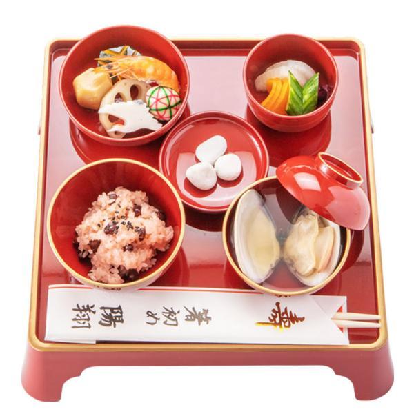お食い初め 料理セットβ版 これがあればお食い初めが出来ます。(お食い初めの解説書付)お祝い膳は付属しません!天然の鯛・歯固めの石付セット。|tokizenmiwa|04
