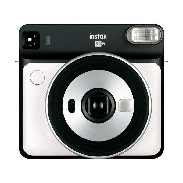 フジフイルム インスタントカメラ instax SQUARE SQ 6 「チェキ」パールホワイトの画像