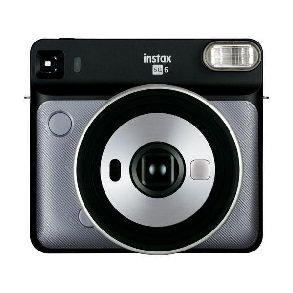 フジフイルム インスタントカメラ instax SQUARE SQ 6 「チェキ」グラファイトグレーの画像