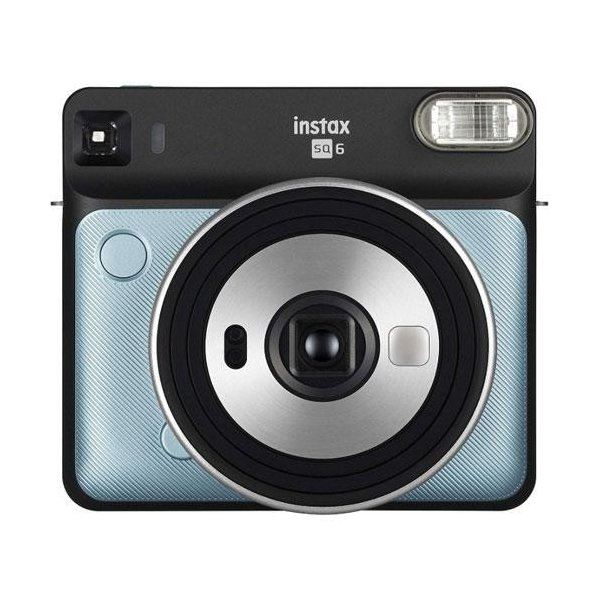 フジフイルム インスタントカメラ instax SQUARE SQ 6 「チェキ」アクアブルーの画像