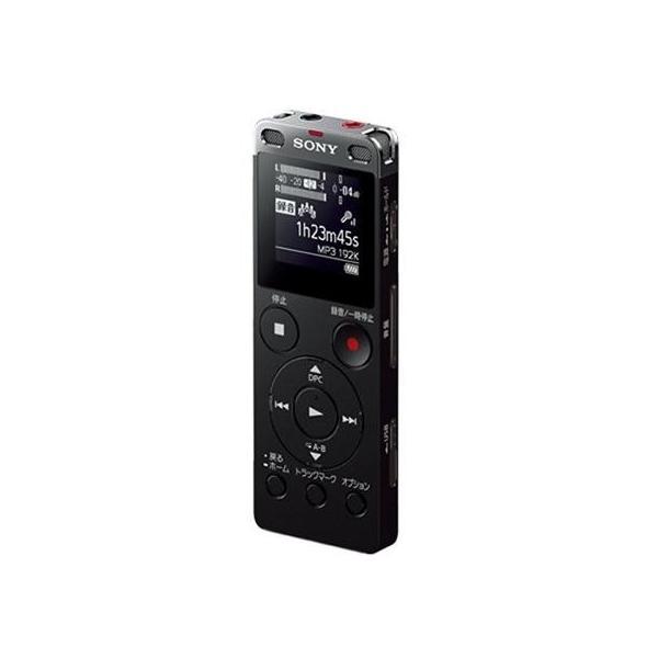 SONY(ソニー) 【ワイドFM対応】リニアPCMレコーダー【4GB】(ブラック)ICD-UX560FBCの画像