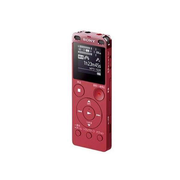 SONY(ソニー) 【ワイドFM対応】リニアPCMレコーダー【4GB】(ピンク)ICD-UX560FPCの画像
