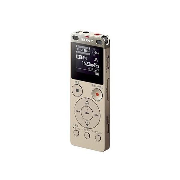 SONY(ソニー) 【ワイドFM対応】リニアPCMレコーダー【4GB】(ゴールド)ICD-UX560FNCの画像