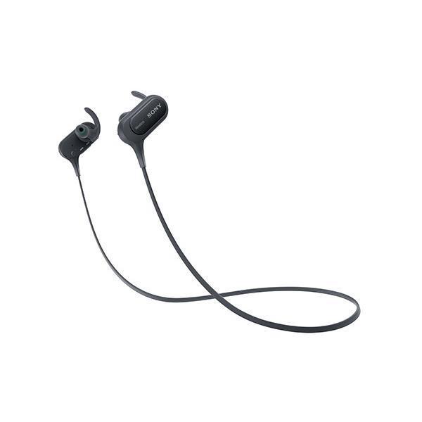 ソニー Sony ワイヤレスイヤホン Mdr-xb50bs : 防滴スポーツ向け Bluetooth対応 マイク付き ブラック Mdr-xb50bs B