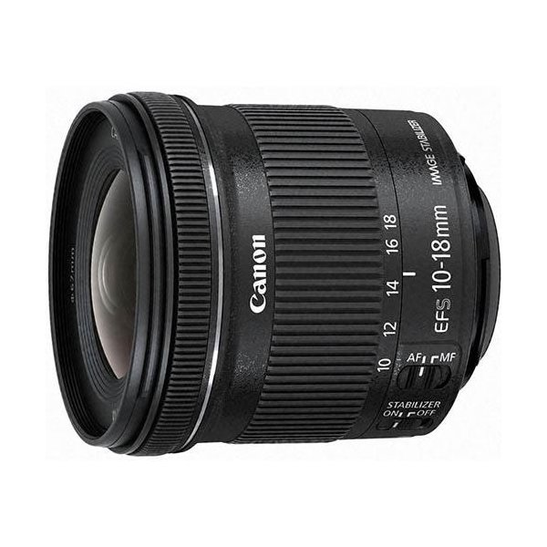 CANON EF-S10-18mm F4.5-5.6 IS STM