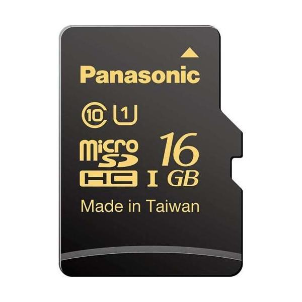 パナソニック RP-SMHA16GJK 高耐久microSDHCメモリーカード Class10 (UHS-I) 16GBの画像