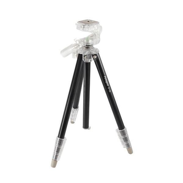 キング Fotopro C-3i(ブラック) アルミ 4段 カラー三脚