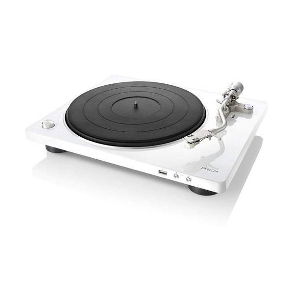 DENON DP-450USB-W(ホワイト) レコードプレーヤー