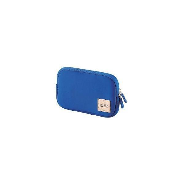 エレコム BMA-GP04BU(ブルー) マルチ収納ポーチ ソフトタイプ