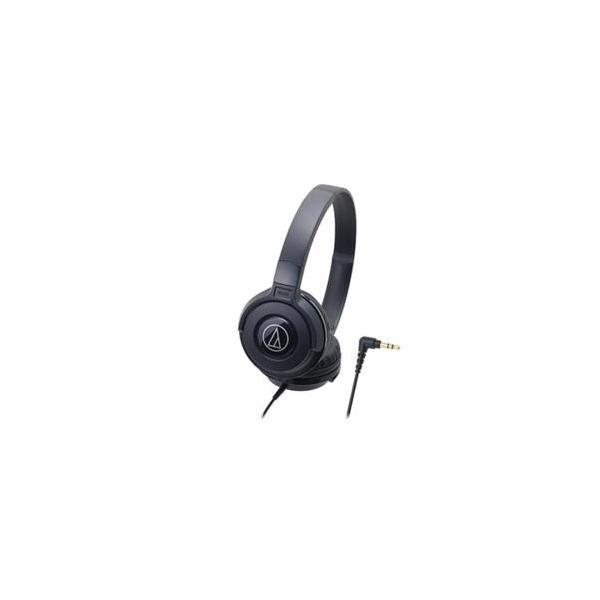 オーディオテクニカ ポータブルヘッドホン ATH-S100 BK ブラックの画像