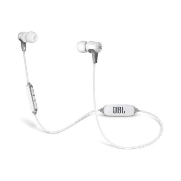 JBL Bluetoothヘッドホン JBLE25BTWHT ホワイトの画像