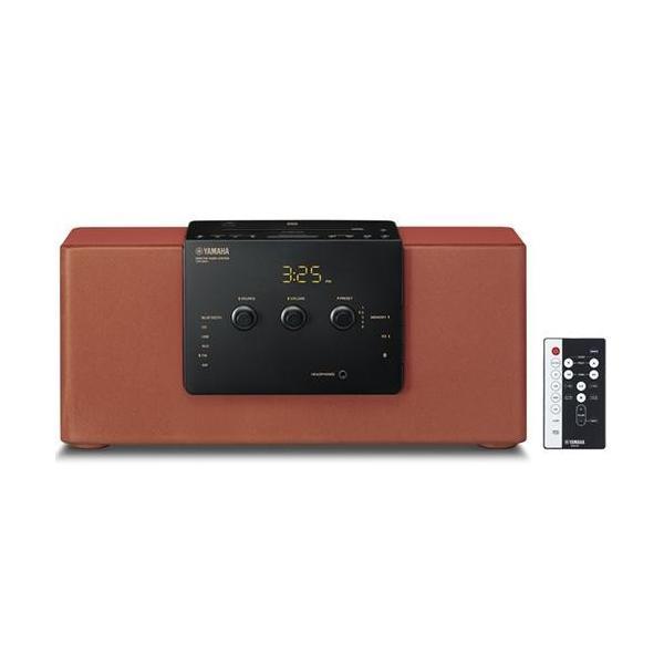 【長期保証付】ヤマハ TSX-B141-RR(ブリック) デスクトップオーディオシステム Bluetooth/ワイドFM対応