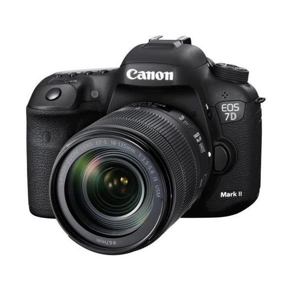 【長期保証付】CANON EOS 7D Mark II EF-S18-135 IS USM レンズキット・W-E1