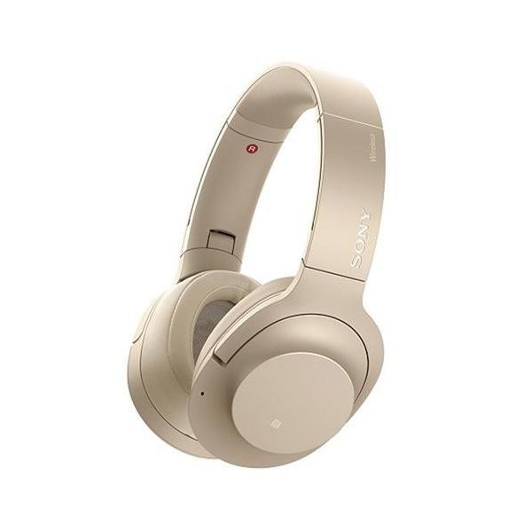 【長期保証付】ソニー WH-H900N-NM(ペールゴールド) ワイヤレスノイズキャンセリングステレオヘッドセット