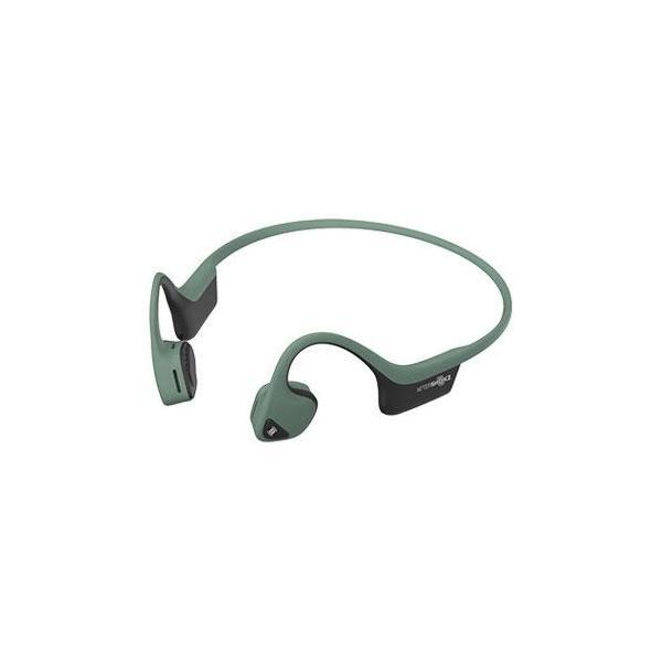 【長期保証付】AfterShokz AFT-EP-000006(フォレストグリーン) TREKZ AIR 骨伝導ワイヤレスヘッドホン