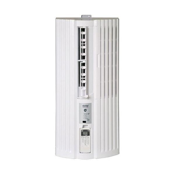 【設置】トヨトミ TIW-A160J-W(ホワイト) ウインドウエアコン 冷房専用 主に5畳