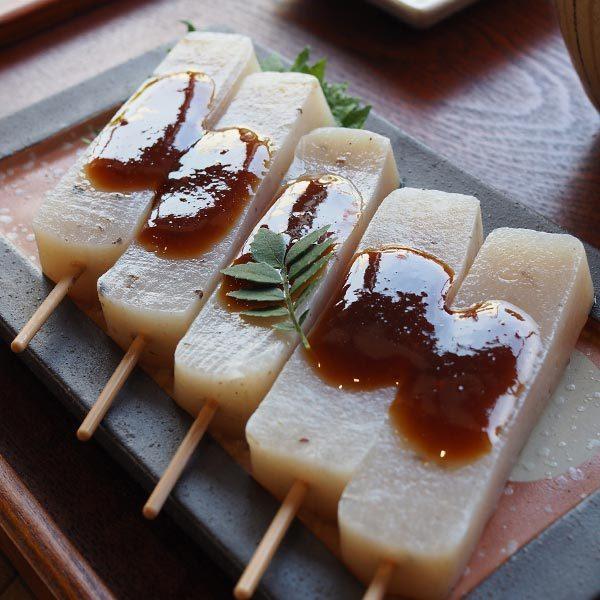 三嶋の味噌おでん 5本入り 15袋セット 荒削りこんにゃく粉使用 伊豆河童 ローカロリー 惣菜 お夜食 おやつ 串おでん asu|tokoroten|13