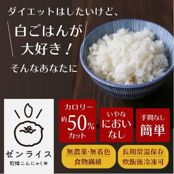 こんにゃく米 乾燥こんにゃく米 こんにゃくごはん 初回限定お試し 5袋 メール便 ポスト投函便 糖質50%カット 糖質制限 糖質オフ|tokoroten|02