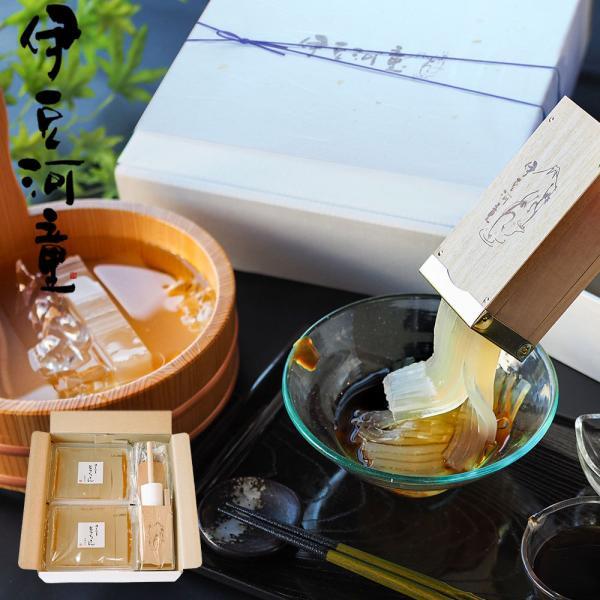 ギフト ところてん 6人前 セット 特製突き棒付 柿田川名水 和菓子 心太 asu