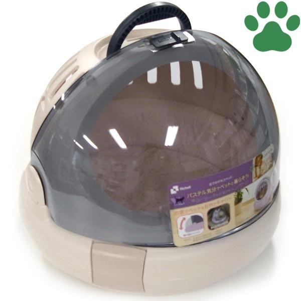 リッチェル コロル おでかけネコベッド Mサイズ(体重8kgまで) ベージュ 猫用 キャリーケース お出かけ猫ベッド かわいい