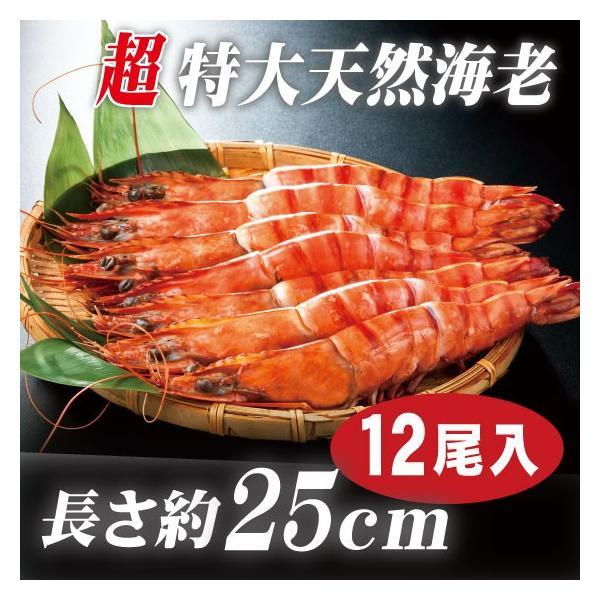 海老 「天然エビ シータイガー12尾」 超特大 業務用 約25cm 108g ×12尾   ※天然海老ですので長さ・大きさにはバラツキがあります。