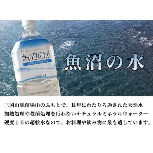 魚沼の水2000ml 1ケース(6本)|tokusanuonuma|03