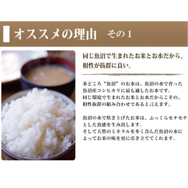 魚沼の水2000ml 2ケース(12本) tokusanuonuma 05