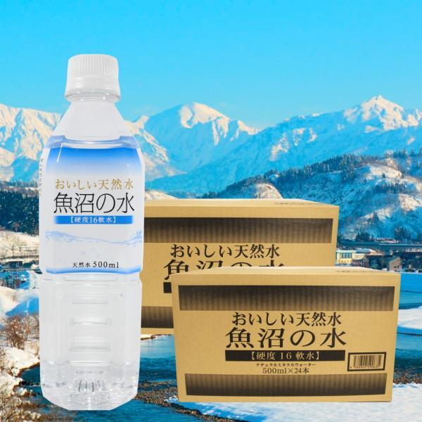 魚沼の水500ml 2ケース(48本)|tokusanuonuma