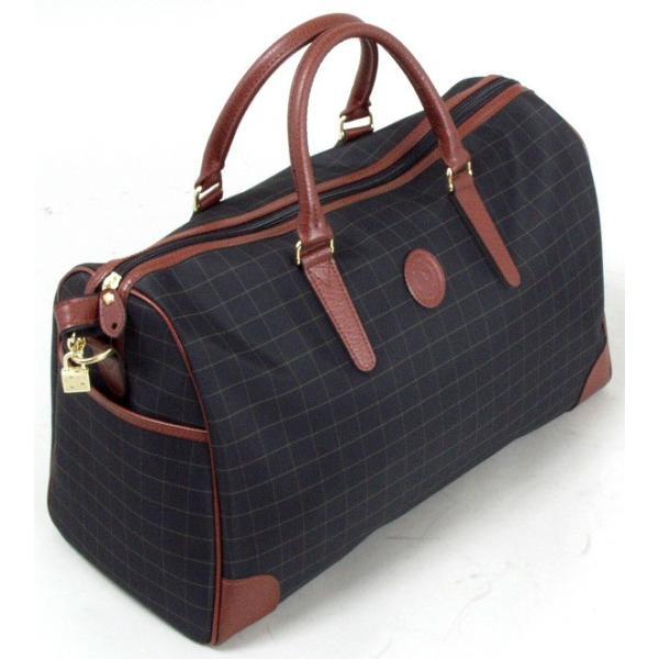 CACCIATOPE/カチャトーレ チェックボストンバッグ 11922 【平野鞄】