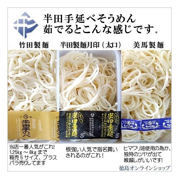 竹田製麺(★3束個包装★)半田手延そうめん125g×3束×21個入 tokushimaonlineshop 04