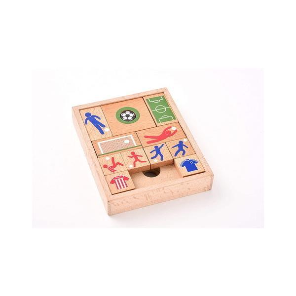 幻冬舎 木製パズル&ゲーム スライドサッカー 論理的思考力・判断力・集中力も鍛える おうち時間 ステイホーム 自宅遊び ストレス緩和 自宅待機 室内遊び