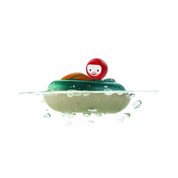 PLANTOYS  プラントイ スピードボート 木のおもちゃ 知育玩具 木製玩具 リハビリ 指先運動 脳活 グッズ 室内遊び
