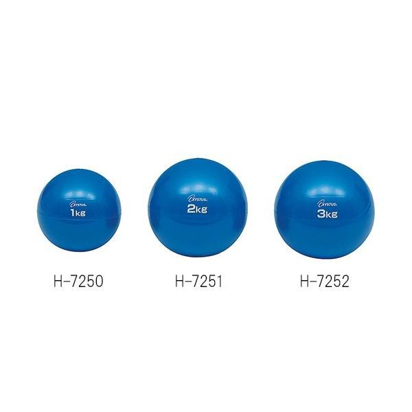 トーエイライト ソフトメディシンボール 1kg H-7250 4518891254571