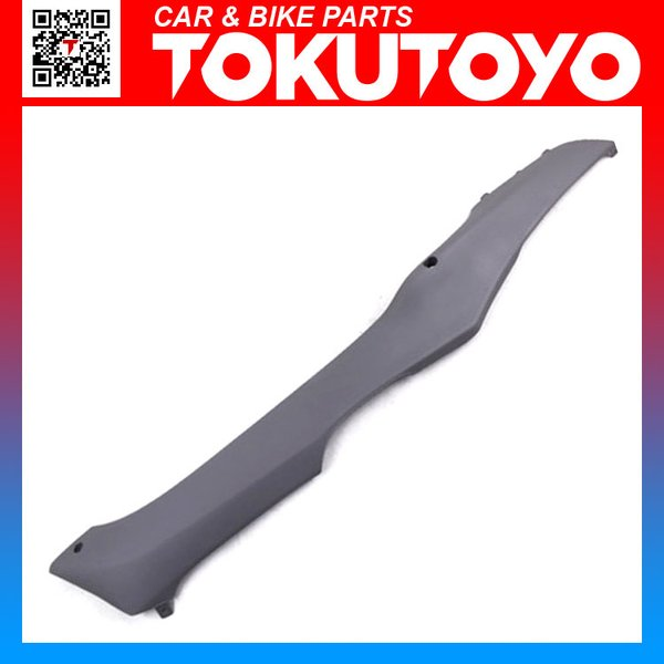 スペイシー100 純正タイプ フロアー サイドカバー L (左 グレー) ホンダ 外装 サイドカウル|tokutoyo