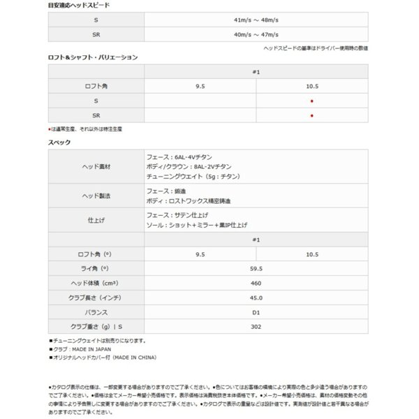 スリクソン SRIXON Z565TG ドライバー Miyazaki Melas IIカーボンシャフト【ゴルフ】【ドライバー】【ダンロップ】【スリクソン】【SRIXON】【z565】|tokyo-golf|03