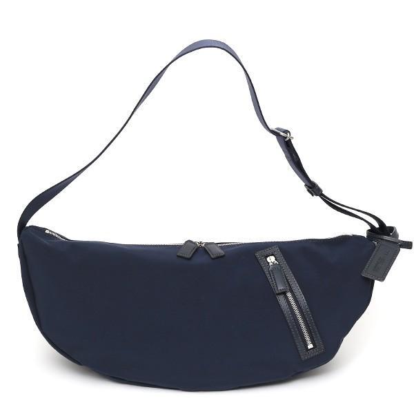 ボディバッグ メンズ ブランド レディース ナイロン 斜めがけ ショルダーバッグ ブルー ネイビー 青色 ワンショルダー ミニバッグ ボーデッサン(BEAU DESSIN)