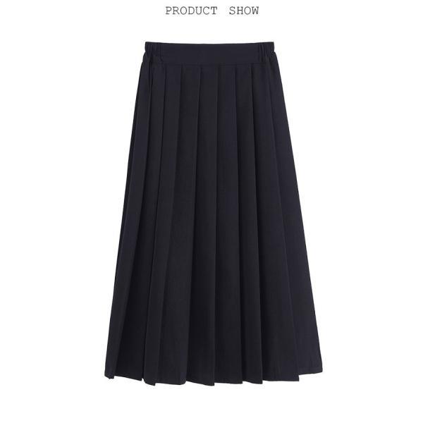 プリーツスカート スクール風 スカート ミニスカート ひざ丈スカート ロングスカート ミディアム丈スカート マキシスカート レトロ コスチューム|tokyo-soreiyu|05