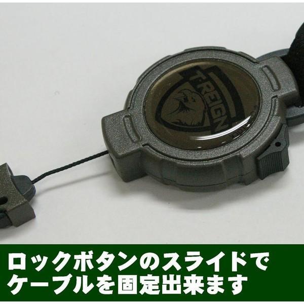 T.Reign ヘビーユース対応ベルクロ式キーリール 120cmケブラー(米国キーバック社純正品) |tokyo-tools|02