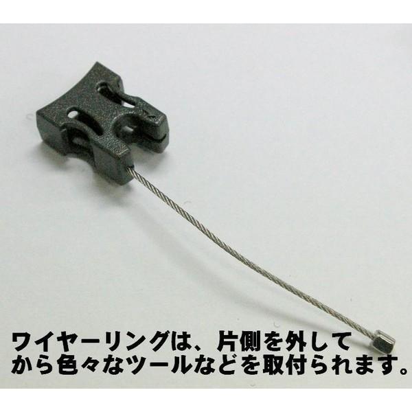 T.Reign ヘビーユース対応ベルクロ式キーリール 120cmケブラー(米国キーバック社純正品) |tokyo-tools|03