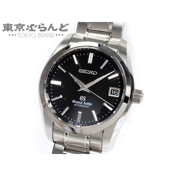 timeless design 0dc95 b2e8a グランドセイコー GS 9Sメカニカル 時計 腕時計 メンズ 自動巻き SS 黒 ブラック SBGR053 9S65-00B0 送料無料【中古】  101341653