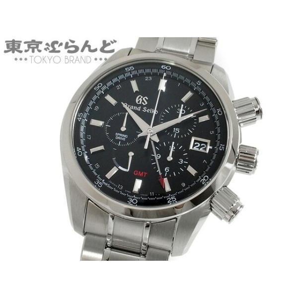 グランドセイコーGrandSeikoスポーツコレクションスプリングドライブGMTクロノグラフ時計腕時計メンズSSSBGC2039