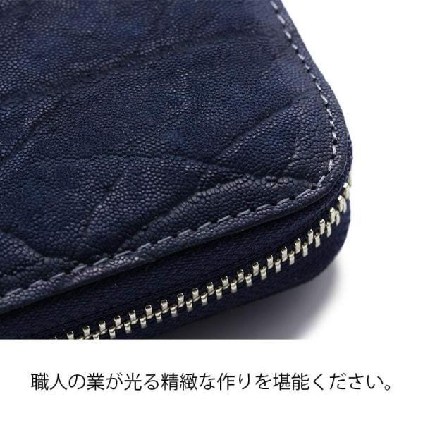 61aebe7a77d7 ... エレファント 象革 財布 長財布 ラウンドジップ 小銭入れ有り 多色 メンズ 日本製