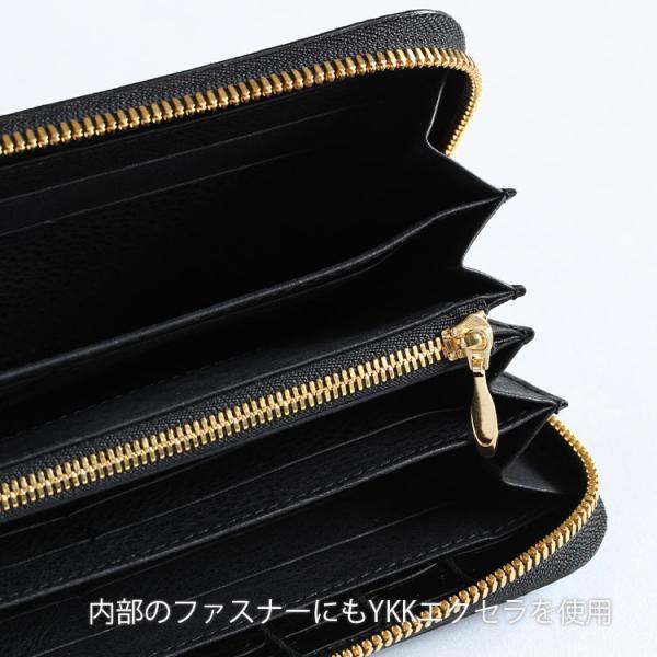 クロコダイル 財布 長財布 メンズ 日本製  ラウンド ファスナー 大容量   ナイルクロコダイルマットラウンド 長財布グランデ|tokyocrocodile|15
