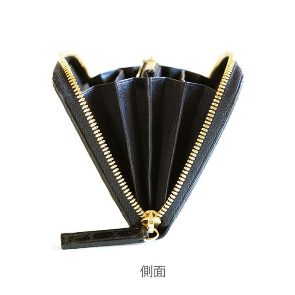 クロコダイル 財布 長財布 メンズ 日本製  ラウンド ファスナー 大容量   ナイルクロコダイルマットラウンド 長財布グランデ|tokyocrocodile|09