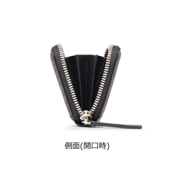 クロコダイル 財布 ミニ財布 マルチケース メンズ マジョーラ加工 日本製   ナイルクロコダイルマルチケースオーロラ|tokyocrocodile|11