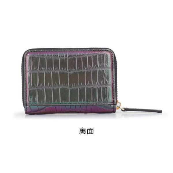 クロコダイル 財布 ミニ財布 マルチケース メンズ マジョーラ加工 日本製   ナイルクロコダイルマルチケースオーロラ|tokyocrocodile|09