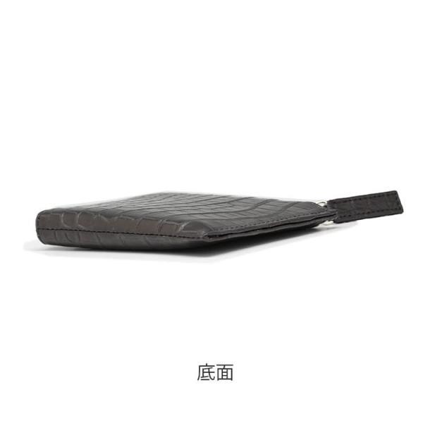 クロコダイル 財布 ミニ財布 メンズ 日本製  プレゼント ポロサス   ナイルクロコダイルマットL字ファスナーミニ財布 tokyocrocodile 10