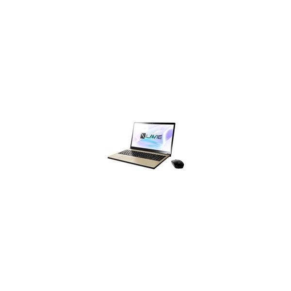NEC PC-NX750JAG ノートパソコン LAVIE Note NEXT グレイスゴールド [15.6型 /intel Core i7 /HDD:1TB /メモリ:8GB /2017年10月モデル]の画像
