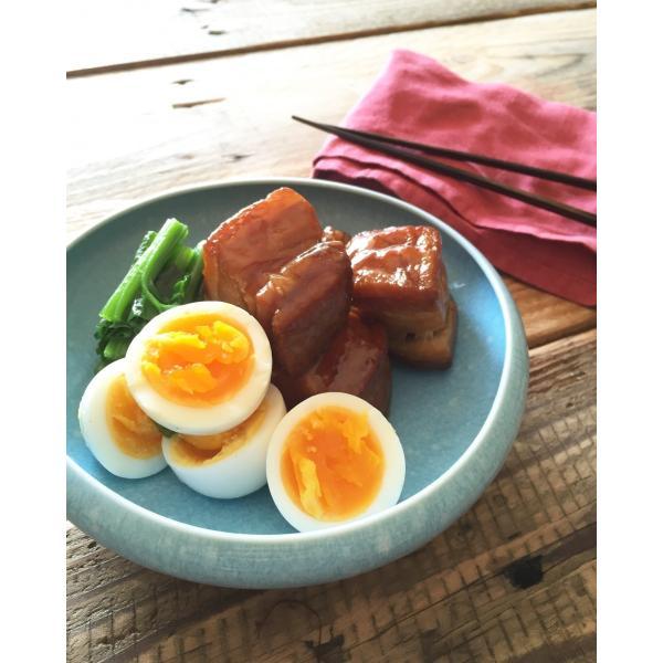 鳥骨鶏半熟燻製卵「極」|tokyofarm|05
